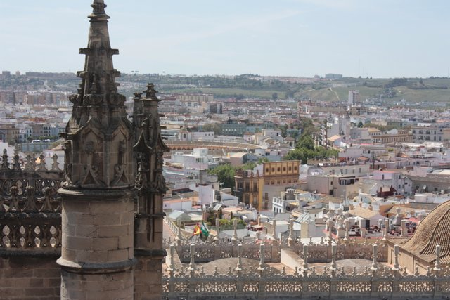 Sevilla Cathedral View