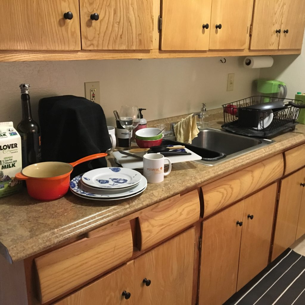 Messy Kitchen Counter: Support + Coaching For
