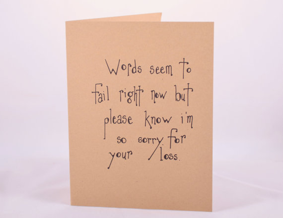 Sympathy Card by EverydaySummit